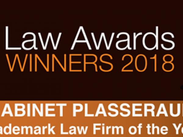 Cabinet Plasseraud élu « Patent & Trademark Law Firm of the Year - France » par Lawyers World