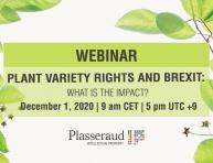 Webinar - Plant variety rights and Brexit: What is the impact?