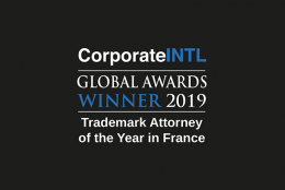 Guylène Kiesel Le Cosquer reconnue Trademark Attorney of the year 2019